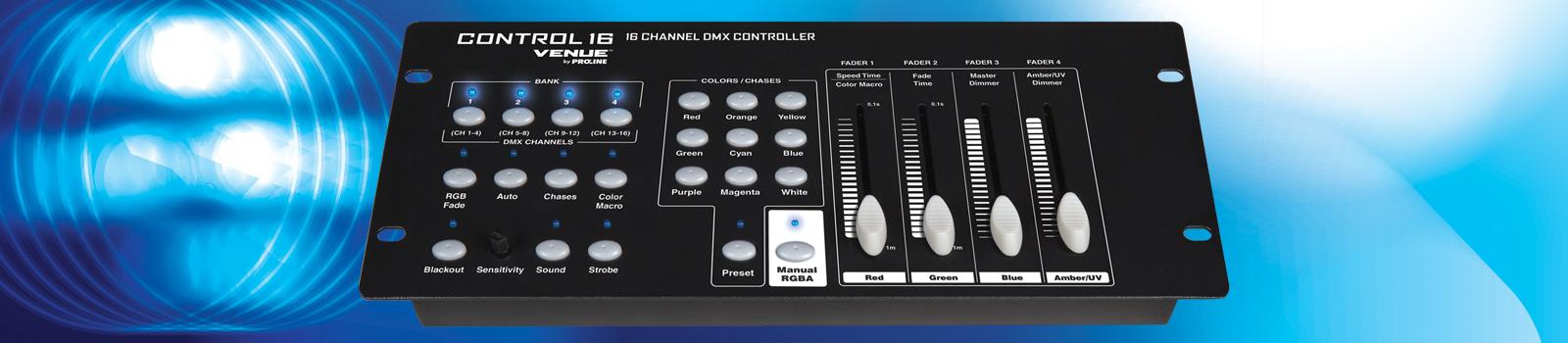 Control16 Venue Lighting Effects