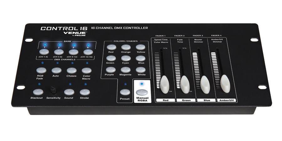 Venue by Proline Control 16 DMX Controller