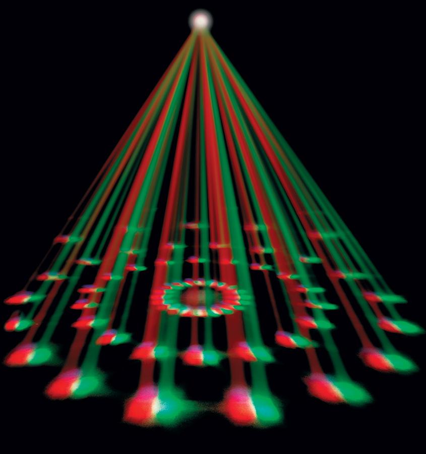 Venue Revolver Laser RGBW Moonflower