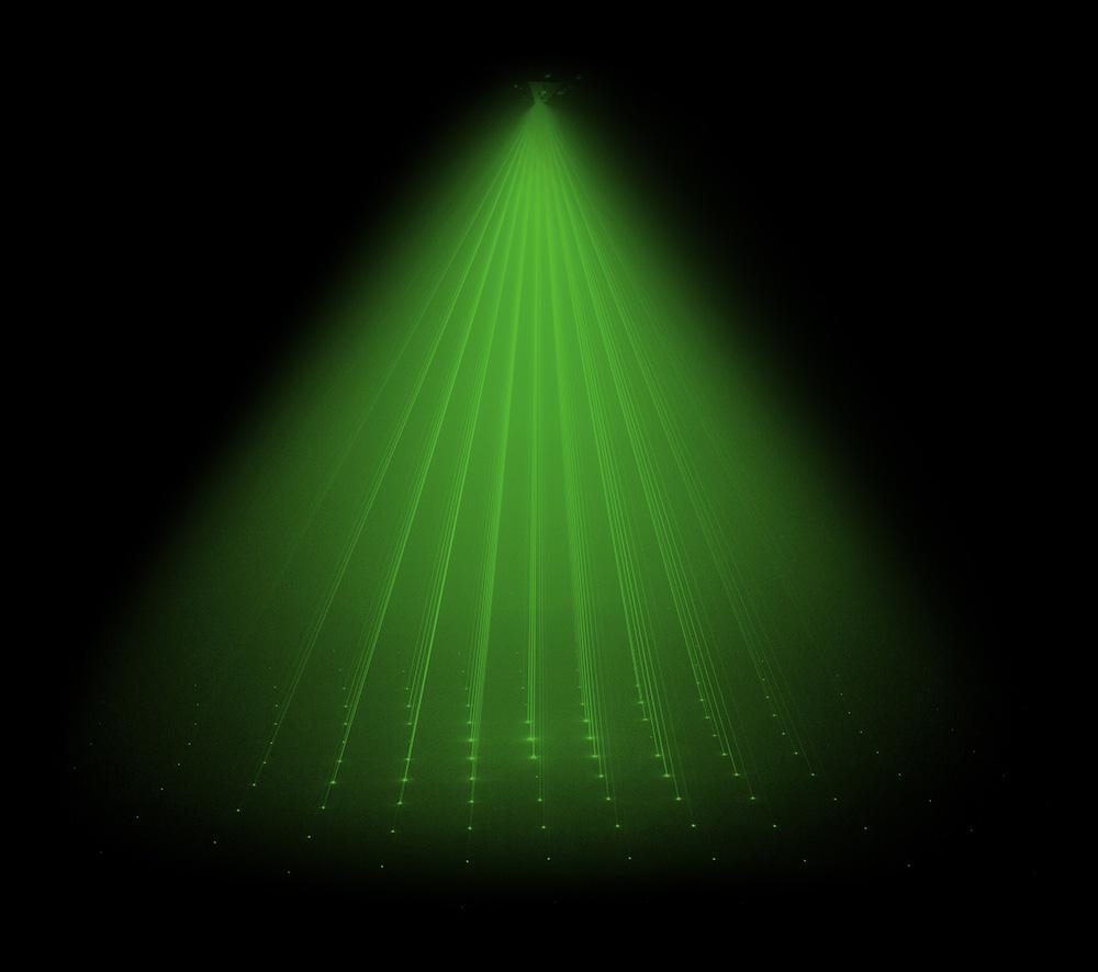 Venue Mothership Green Laser Effect